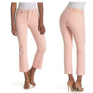 TRAVEHigh Waist Ankle Straight Leg Jeans …
